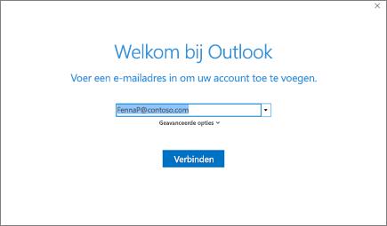 Welkom bij Outlook