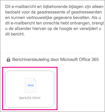 OME Viewer voor iOS-e-mailapp 1