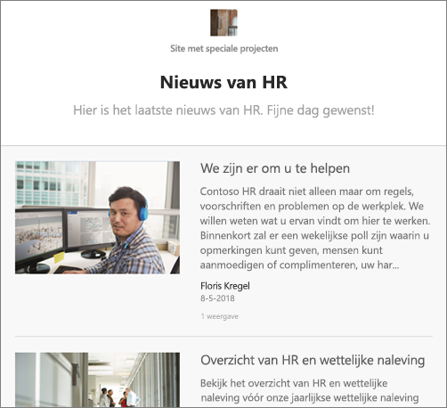 E-mail voor News Digest