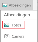 Foto's selecteren