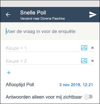 Kaizala: snelle poll