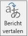 De knop Translator voor Outlook
