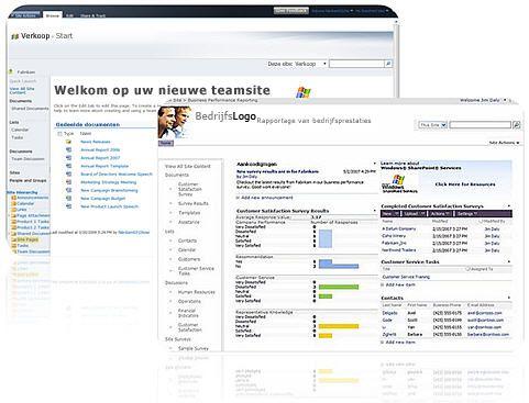 Sites die u maakt met SharePoint Designer 2010