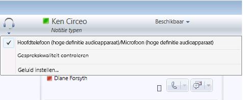 Audio-opties