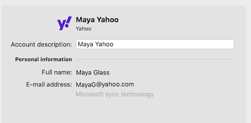 Yahoo-accountondersteuning in Outlook