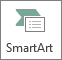 Volledige weergave knop SmartArt