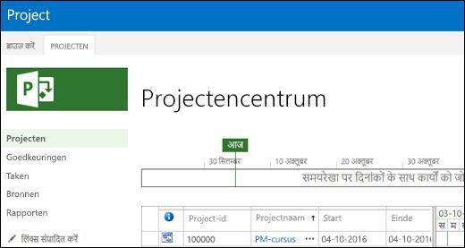 Projectencentrum met Bulgaars
