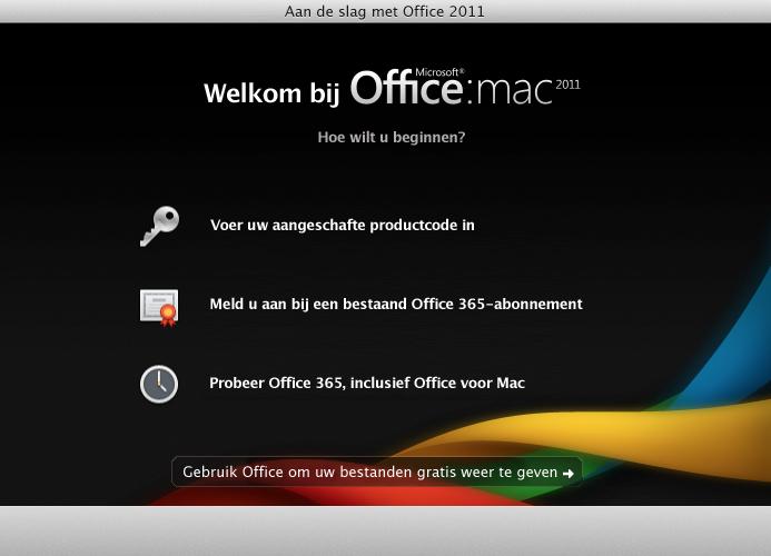 Aanmelden bij een bestaand Office 365-abonnement