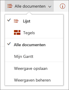 Menu Weergaven in Microsoft Edge