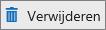 Lijsten pictogram Verwijderen
