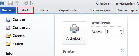Het tabblad Opmaak op het PowerPoint 2010-lint.