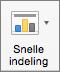 Selecteer Snelle indeling op het tabblad Grafiekontwerp