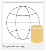 Aangepast pictogram voor Access-web-app