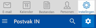 Outlook IOS- en Android-instellingen
