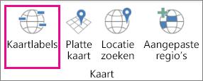 Optie Kaartlabels van 3D-kaarten