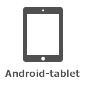 Pictogram voor Android-tablet