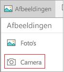 Camera selecteren