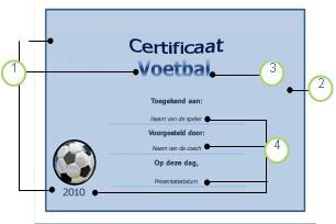 Voetbalsjabloon