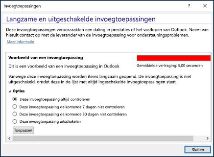 Outlook-invoegtoepassingen uitschakelen
