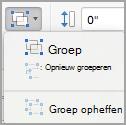 Objecten groeperen