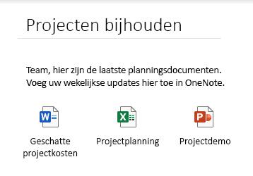 Ingesloten bestanden op een pagina in OneNote voor Windows 10