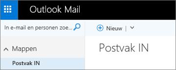 Zo ziet het nieuwe lint in Outlook.com eruit