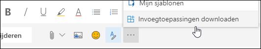 Schermafbeelding van de knop invoegtoepassingen downloaden