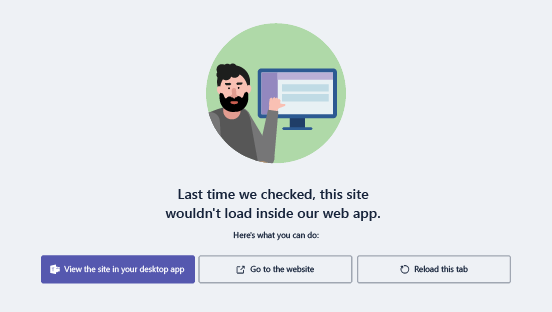 Opties wanneer u problemen hebt met het laden van een website