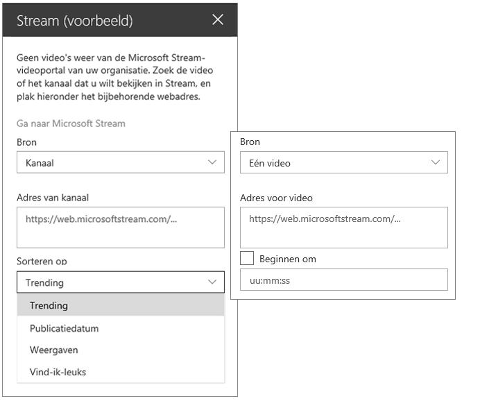 Videowerkset van Microsoft Stream