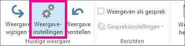 Klik op Weergave-instellingen op het tabblad Weergave.