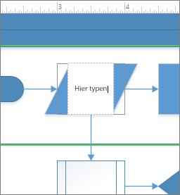 Tekst toevoegen aan een shape