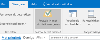 De functie Postvak IN met prioriteit in Outlook
