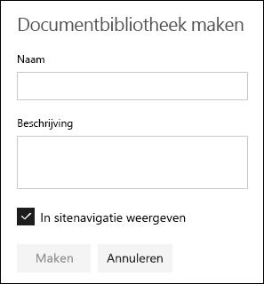 Details van documentbibliotheek