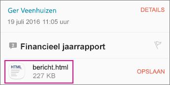 OME Viewer met e-mailapp voor Android 1
