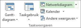 Afbeelding van de knop Netwerkdiagram op het tabblad Beeld.