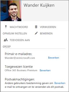 Vraag uw gebruikers hun foto's toe te voegen, zodat u ze in de beheerconsole kunt zien.