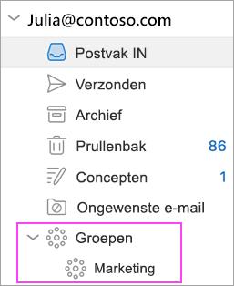 Outlook Groups zijn beschikbaar in Office 365!