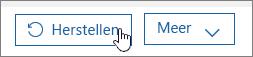 Een gebruiker herstellen in Office 365.