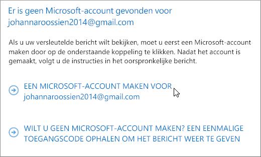 Een Microsoft-account maken