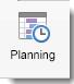 Het pictogram Scheduling wordt weergegeven op het tabblad Meeting van Organizer.