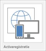 Knop van sjabloon voor Access-web-app