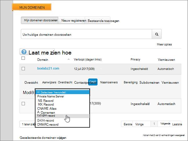 De map voor het tijdelijk opslaan van bestanden nadat u bestanden hebt verplaatst vanuit de gesynchroniseerde map van SharePoint OneDrive voor Bedrijven