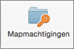 Knop Mapmachtigingen in Outlook 2016 voor Mac