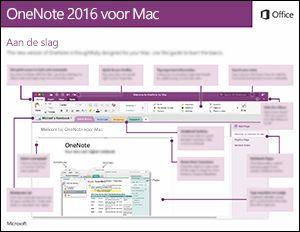 Aan de slag met OneNote 2016 voor Mac