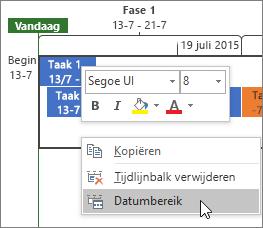 Datumbereik
