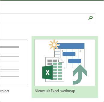 Sjabloon van Excel-werkmap
