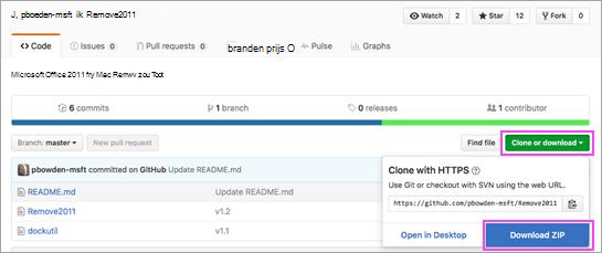 Download het hulpprogramma Remove2011.