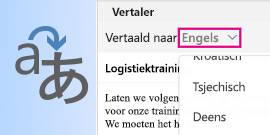 Outlook voor Mac Translator