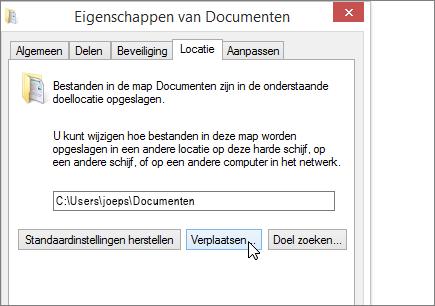 Een schermafbeelding van het menu Documenteigenschappen in Verkenner.