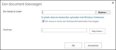 uploaden met windows verkenner